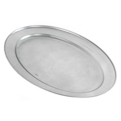 ovale schaal 48 cm rvs