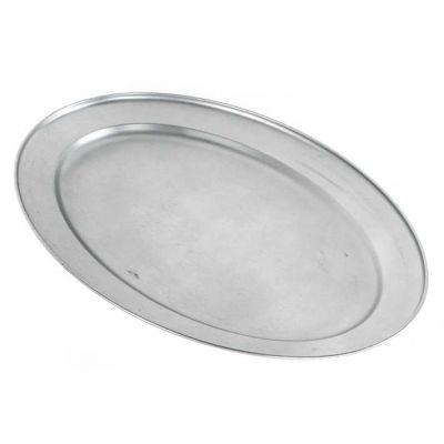 ovale schaal 64 cm rvs