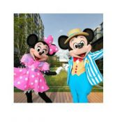 mascotte Minnie & Mickey Mouse